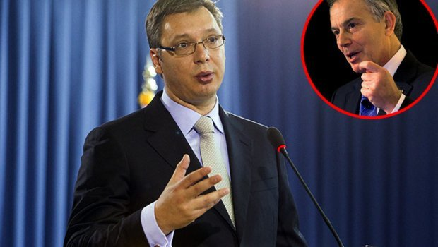 Tony Blair, Aleksandar Vučić , partnership, advisor, Serbia, NATO, war