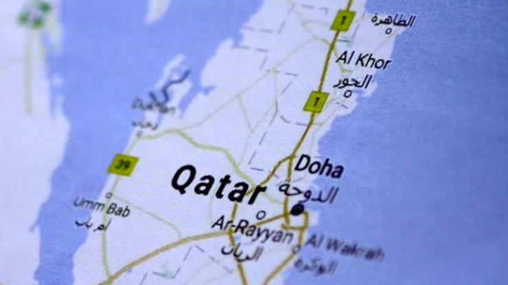 a-map-of-qatar